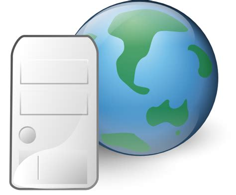 clipart web web server icon clip at clker vector clip