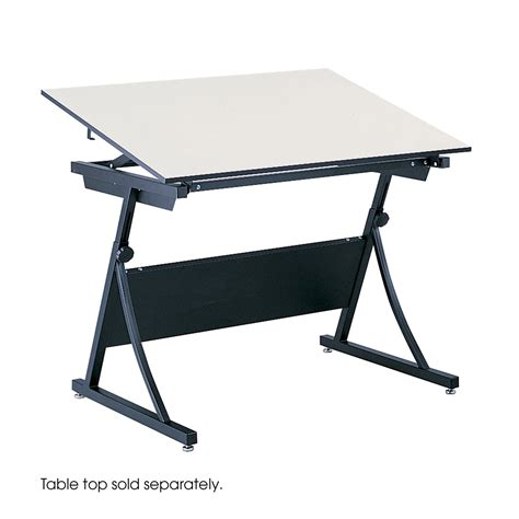 collapsible drafting table planmaster height adjustable drafting table safco products