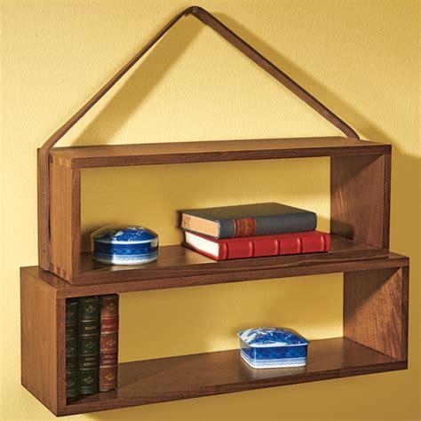 Monticello Food Shelf monticello hanging bookshelf