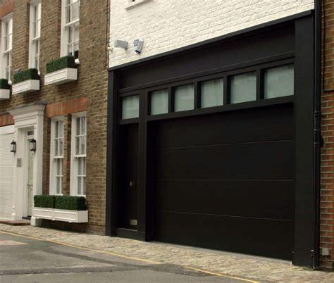 elegant sliding garage doors  natural colour amaza design