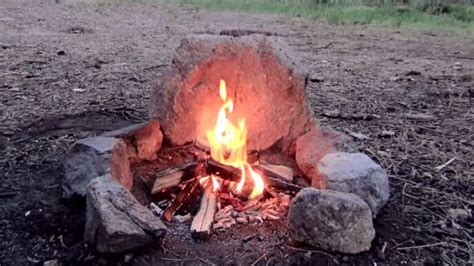 how to dig a fire pit in your backyard the no dig smokeless cfire besurvival