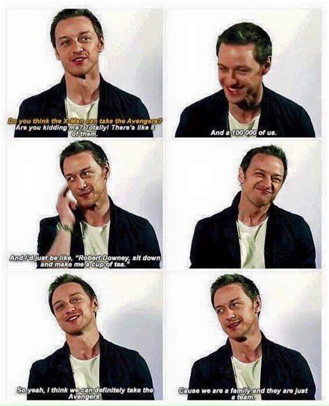 james mcavoy funny quotes x men mcavoy marvel pinterest marvel marvel dc and