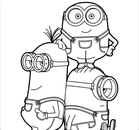 minions coloring pages king bob king bob minion coloring coloring pages
