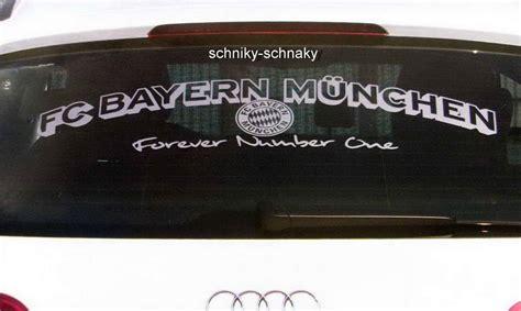 Bayern Aufkleber F R Auto by Fc Bayern M 252 Nchen Autoaufkleber Aufkleber Heckscheibe