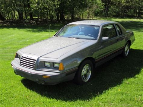 1986 Ford Thunderbird by 1986 Ford Thunderbird Turbo Coupe
