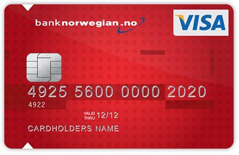 bank norwegen registrere ditt bank kort