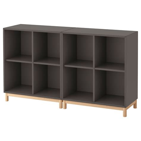 Sideboard Tiefe 50 Cm by Eket Cabinet Combination With Legs Grey 140x35x80 Cm