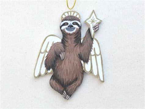 sloth ornament original handmade
