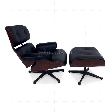 eames chair and ottoman replica eames style lounge chair and ottoman black leather