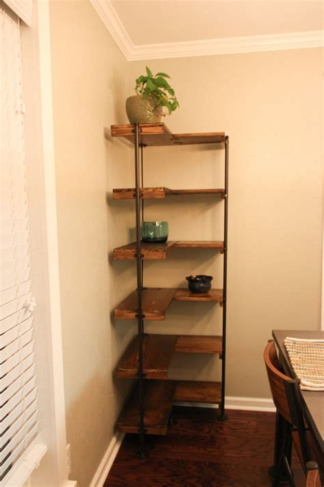 25 best ideas about diy corner shelf on