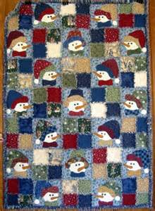 Snowman Rag Quilt Pattern by Image Detail For This Snowman Rag Quilt Kit