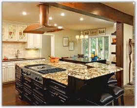 kitchen island with table combination kitchen island as dining room table home design ideas