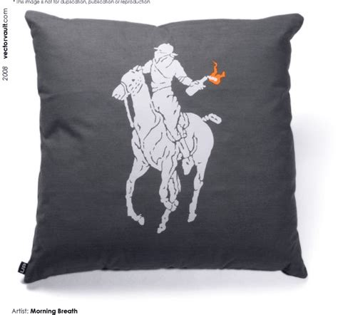 Polo Ralph Pillows by Hey Ralph How About A Molotov Cocktail