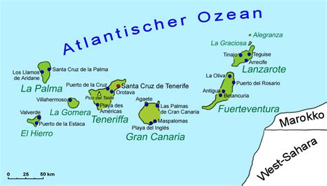 wo liegen die kanaren kanarische inseln kanaren landkarte landkarte goruma