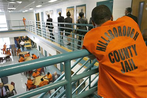 Hillsborough County Arrest Records Inmates In America Inmates Incarcerated In City And County Jails During 2010