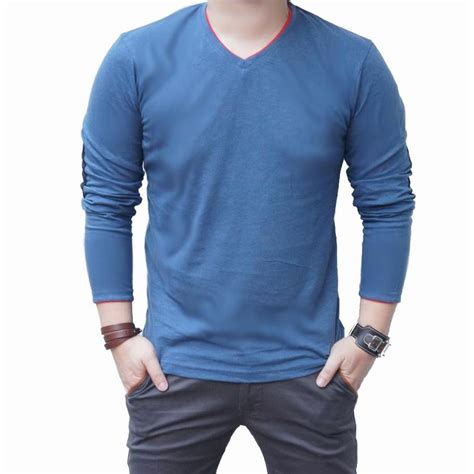 Kemeja Grey Sleeve Sweater new arrival quincy labell sweater patch v neck