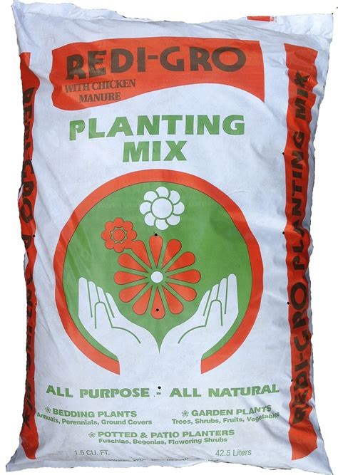 Planter Mix by Redi Gro Product Information Planting Mix