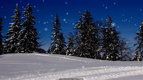 animated christmas snow wallpaper wallpapersafari