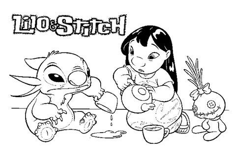 stitch coloring pages bestofcoloring com