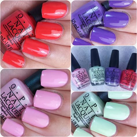 Manicure Opi best opi nail colors swatches nail ftempo