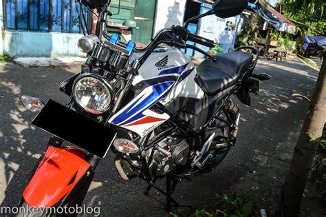 Stang Jepit Vixion Cb150r Nvl Verza Megapro Scorpio modifikasi honda cb150 streetfire dengan lu bulat