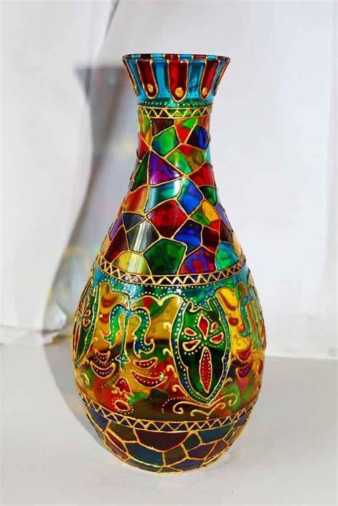 Stained Glass Vases 17 Best Images About вазы On Pinterest Ceramic Vase