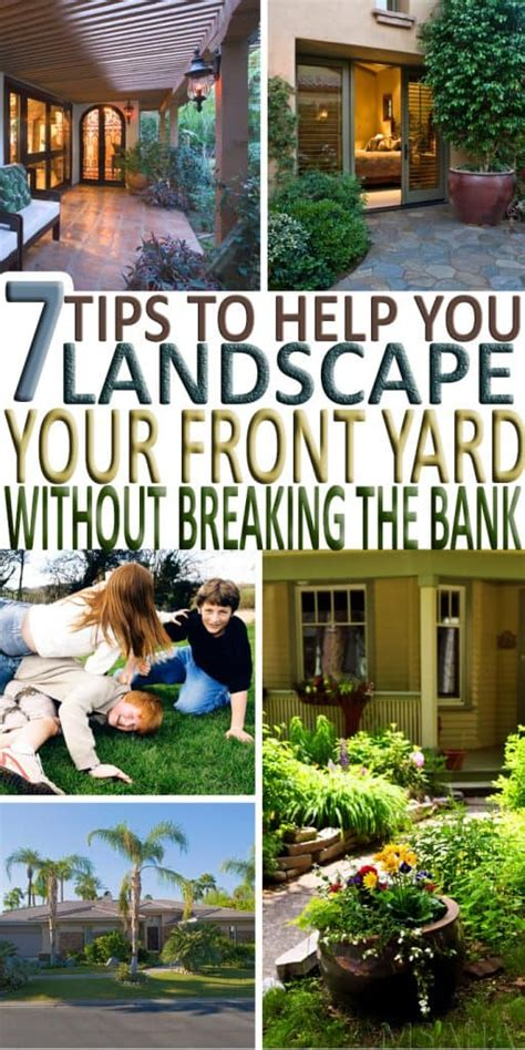 how to your to stay in the yard 7 tips to help you landscape your front yard this season