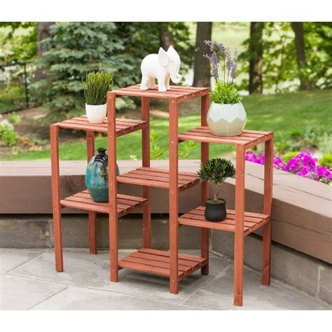 tier plant stand rectangle brown leisure season target