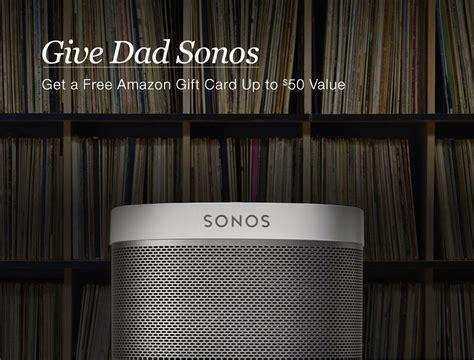 Sonos Gift Card - sonos play amazon gift card