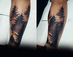 what do tree tattoos mean what does pine tree ideas designs