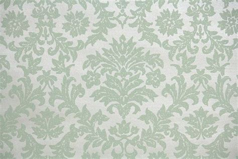 green wallpaper victorian 1940 s vintage wallpaper pale green damask by