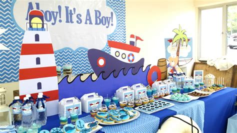 baby themes for boys theme nautical boy its more than just a party