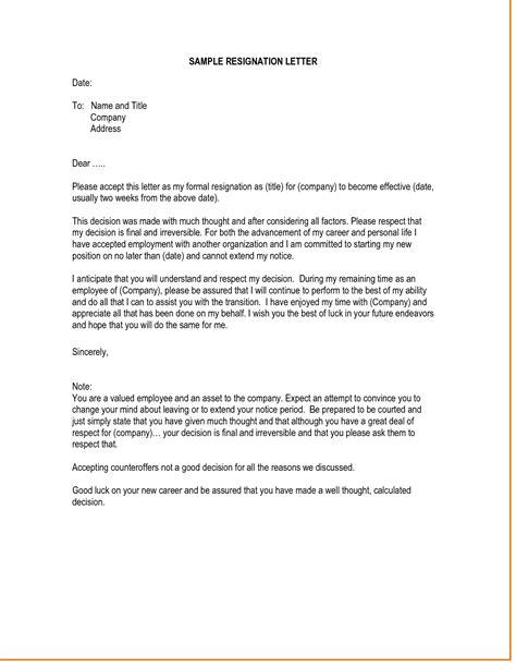 Resignation Letter For Unsatisfying Circumstances by Resignation Letter For Unsatisfying Circumstances