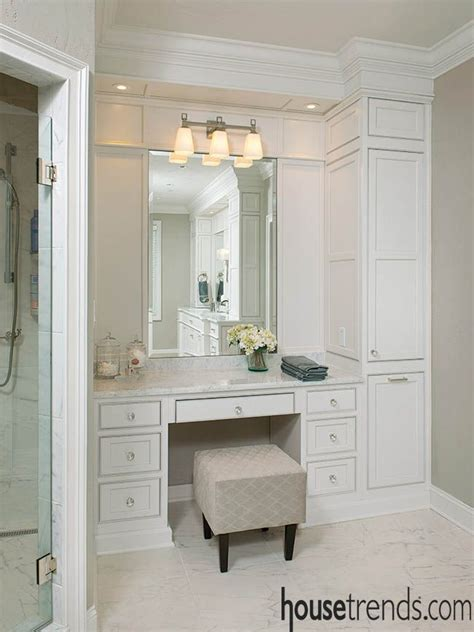Bathroom Cabinets With Makeup Vanity Best 25 Master Bathroom Vanity Ideas On Pinterest Master Bath Master Bath Vanity And