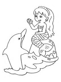 Galerry coloring pages printable mermaid