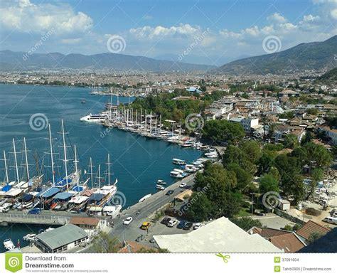 porto della turchia porto turchia di fethiye immagini stock immagine 37091604