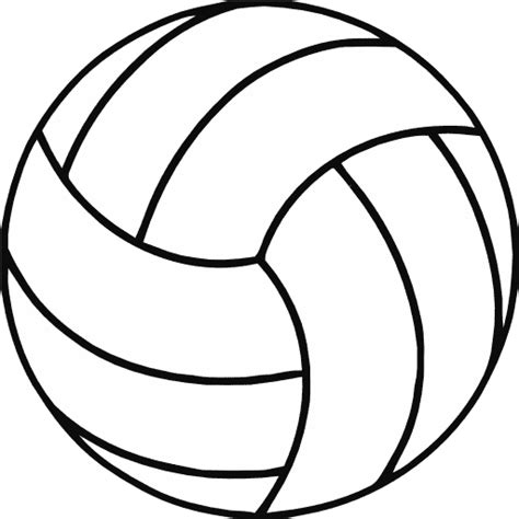 printable volleyball pattern volleyball vector free download clipart best