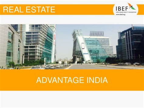 Mba In Real Estate In India by Real Estate Sector Report April 2017