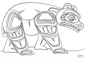 color pages haida coloring page free printable coloring pages