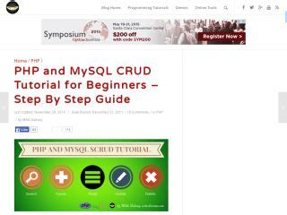 tutorial php and mysql for beginners php tutorials for beginners web development tutorials