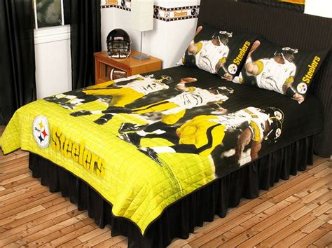 Steelers Crib Bedding Set Pittsburgh Steelers Bedding And Sports Bedroom Buy At Team Bedding
