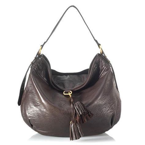 Couture Tinsley Leather Handbag by Couture Leather Olympia Large Hobo Handbag