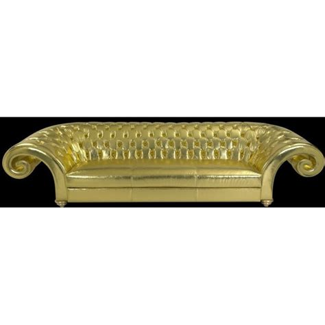Luxury Chesterfield Sofa Luxury Metallic Gold Chesterfield Sofa