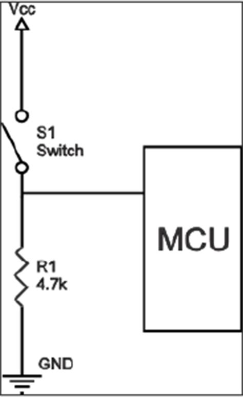 pull resistor input pull resistor on input 28 images microcontroller when to use pull vs pull up resistors