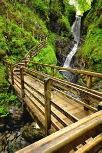 County Antrim Ireland Glenariff Forest Park