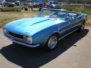 Blue Convertible File 1967 Blue Chevrolet Camaro Convertible Side Jpg