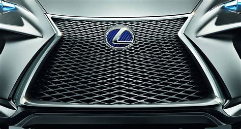 Lexus Spindle Grille by Lexus Lf Nx Concept Front Spindle Grille Design Detail