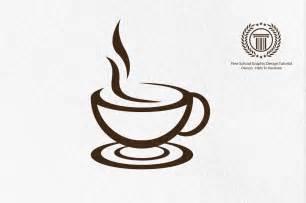 coffee cup designs logo design illustrator adobe illustrator tutorial logo