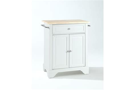 white portable kitchen island lafayette wood top portable kitchen island in