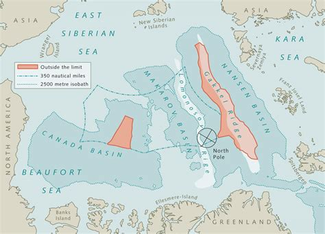 Arctic Continental Shelf by Limits To The Of The Sea 171 World Review